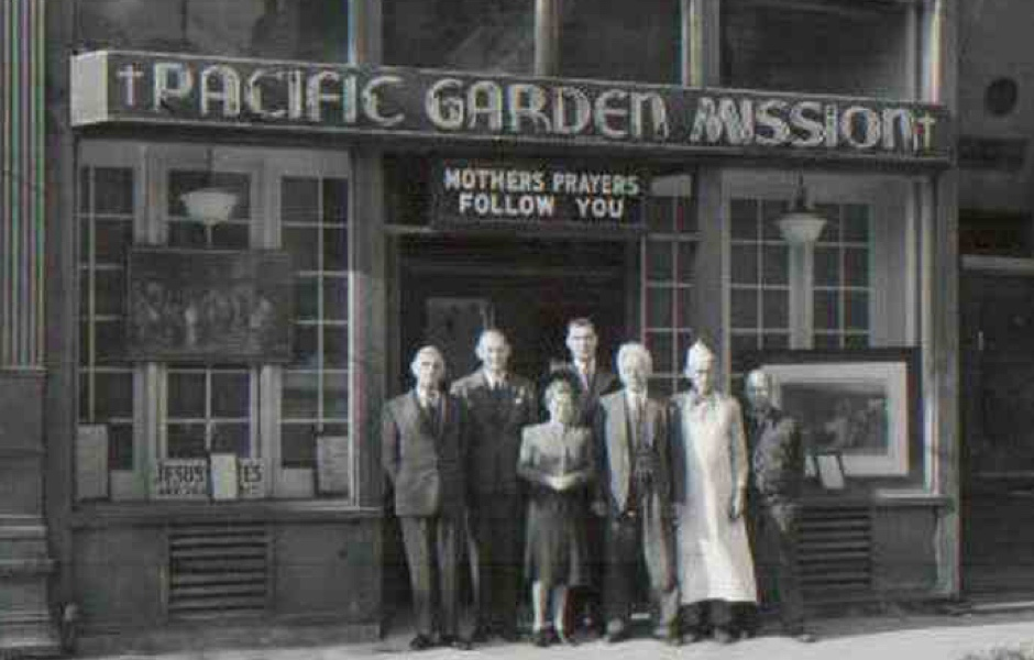 Our History Pacific Garden Mission